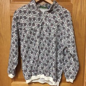 VINTAGE FLORAL AND PAISLY CREWNECK